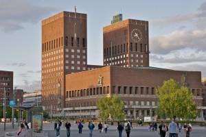 Radhuset van Oslo